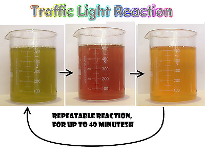 Pre-assembled - Traffic light Reaction (science kit)