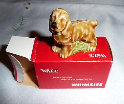 COCKER SPANIELS DOG CERAMIC FIGURINES Collectable Wade
