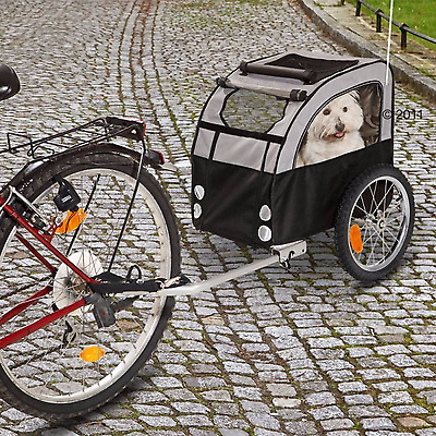 Dog Bike Trailer Pet Bicycle Basket Small Dogs Puppies Cycle Carrier Travel Cart