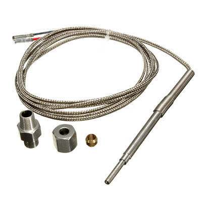 Universal EGT K Type Thermocouple Exhaust Probe High Temperature Sensors Threads