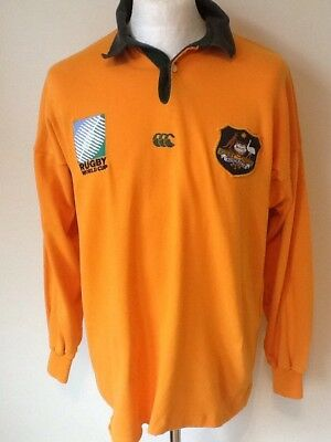 Australia Canterbury Vintage World Cup Rugby Shirt Large