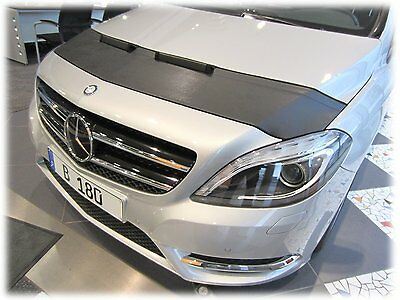 Mercedes B-Class W246 since 2012 CUSTOM CAR HOOD BONNET BRA MASK BRA DE CAPOT