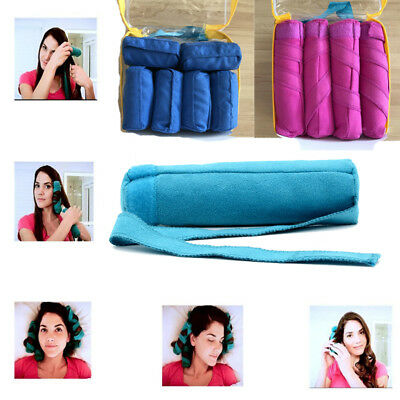2017 New Useful The Sleep Style Kit For Short /Long Hair Salon Rollers Curlers