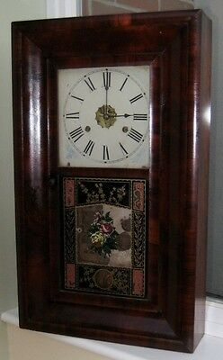 American Wall Clock By Jerome With Original Receipt