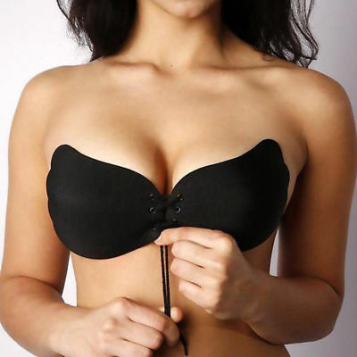 Women Silicone Bra Adhesive Stick On Push Up Gel Strapless Backless A B C D E