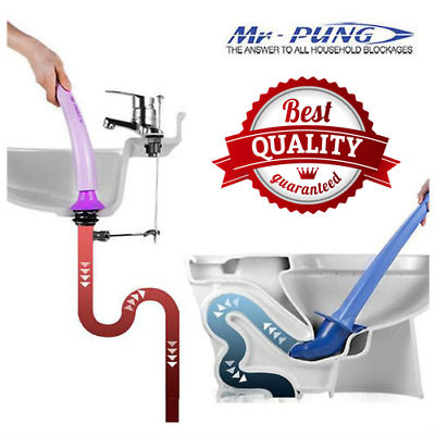 MR-PUNG Kitchen and Toilet Plungers (8g Co2 Cylinders NOT included)