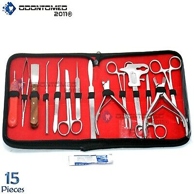 "24 Mosquito Hemostat Forceps Locking Clamps 5"" Straight Stainless Steel"