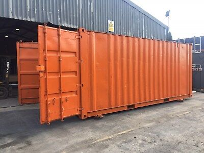 20ft x 8ft Anti vandal Storage Container