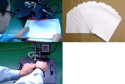 50PCS Fabrics Paper Top Inkjet Transfer for Hot Light Color Heat Iron Sheets A4