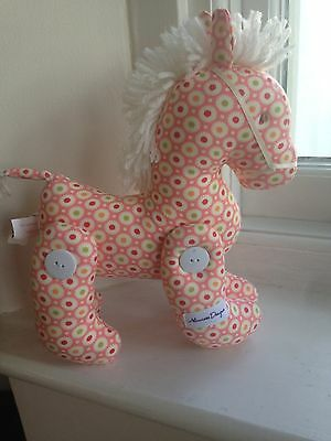 Alimrose bright coloured jointed pony toy new