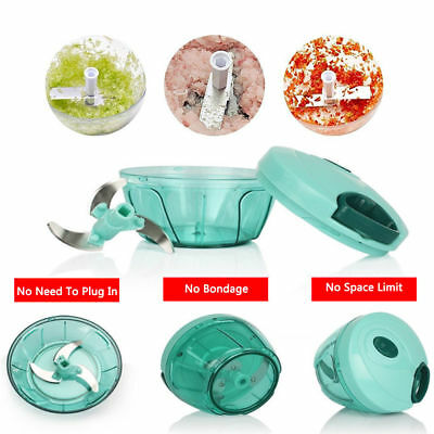 Mini Slicer Manual Food Chopper Processor Garlics Blender Muitifunctional Mincer