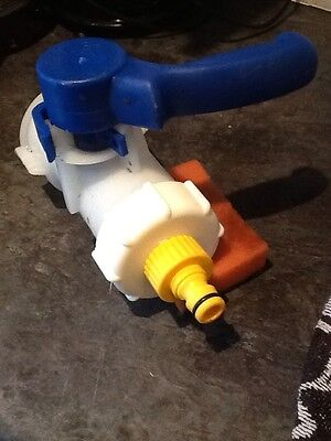 "IBC CAP ADAPTOR STILLAGE HOSE PIPE WATER BUTT TAP STORAGE TANK 2"" 60mm CONTAINER"