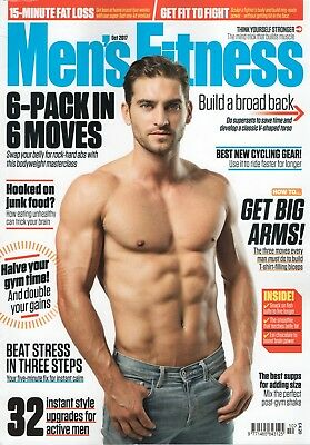 "Mens Fitness Magazine - October 2017 ""6-Pack in 6 Moves"" (BN/SEALED)"