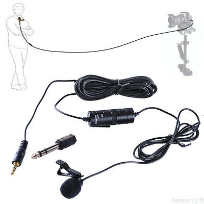 For BOYA BY-M1 Omnidirectional Lavalier Microphone FOR Canon Nikon Camcorder