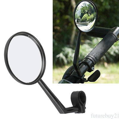 ABS& Glass Bike Bicycle Cycling Rear View Mirror Handlebar Safety Rearview yh