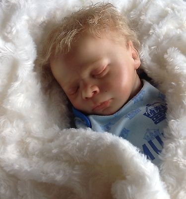 First Edition Realborn Reborn Baby Thomas- made from a scan of a real baby