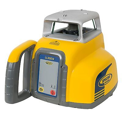 Spectra Precision LL300N Rotating Laser Level with HL450 MM Receiver