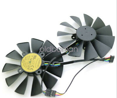 ASUS STRIX GTX970 980 780 STRIX-R9285 T129215SU Graphics Card Cooling Fan 5Pin