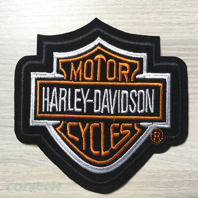 Patch Ecusson Thermocollant ★Harley Davidson Moto★ Embroidery Sticker Biker