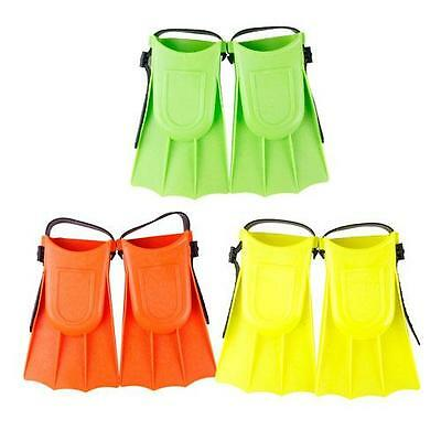 Hot Soft Adjustable Toddler Learning Swim Kids Fin Flippers Child Pool Beach Set