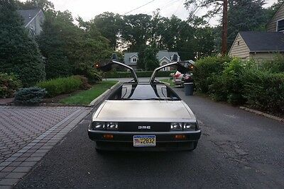 1981 DeLorean DMC-12  1981 DeLorean-Automatic, 2nd owner, 15k miles, new tires and battery