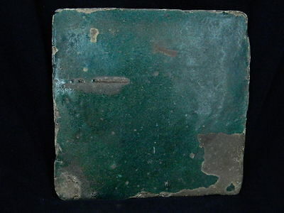 Ancient Large Size Glazed Tile Islamic 1100 AD  #PT553