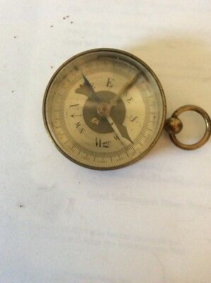 French Made Brass Compass