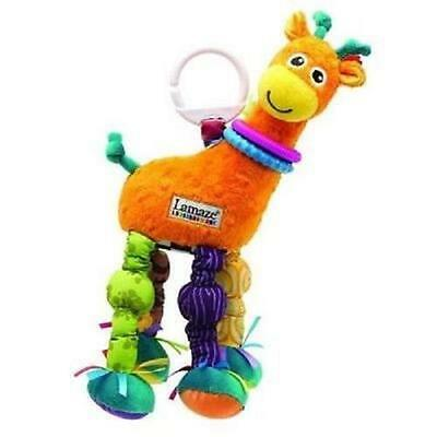 HOT Playand Grow Stretch the GIRAFFE Baby Soft Hanging Toy for Pram/Car Seat