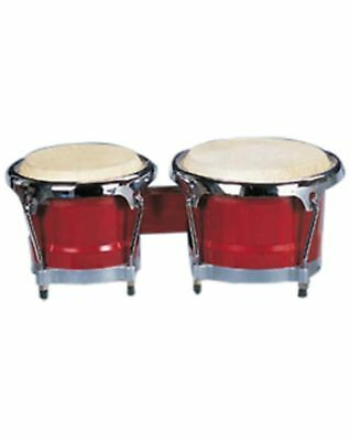 "Mano Bongo Set 7"" & 8"" with Traditional Rims MP1789NS-1RW Red Wood"