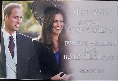 Prince William and Catherine Engagement Post Card