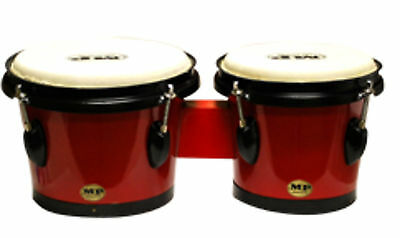 "Mano Percussion Tunable Bongos - 7"" and 8"" MP715-R Red"