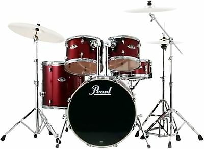 Pearl Export 5 Piece Drum Kit Shell Pack Red Wine EXX725PC91