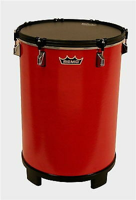 "Remo BH-0014-A1 14 x 21"" Bahia Bass Drum, Gypsy Red"