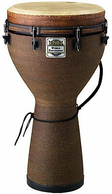 "Remo DJ001405 Key-Tuned 25""x14"" Earth Finish Djembe"