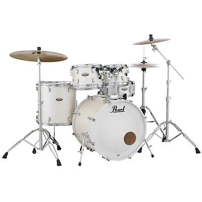 Pearl DMP925SPC229 Decade Maple 5-piece Shell Pack - White Satin Pearl