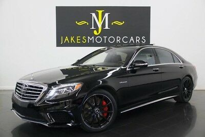 2014 Mercedes-Benz S-Class S63 AMG ($154K MSRP) 2014 S63 AMG, $154K MSRP, BLACK ON BLACK EXCLUSIVE LEATHER, 1-OWNER, 29K MILES