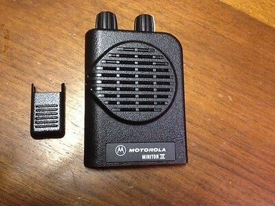 Motorola Minitor IV 4 Front Housing Case and Battery Door - Non-Stored Voice