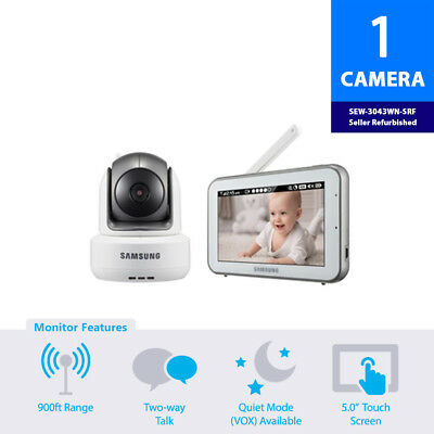 (Seller Refurbished) Samsung SEW-3043WN Wireless Touch Screen Baby Monitor