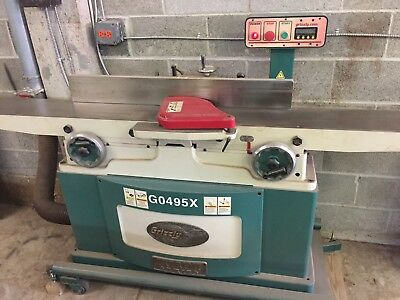 GRIZZLY Jointer G0495X With Spiral Cutterhead Extreme Series