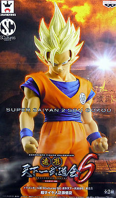 Banpresto Dragonball Super Saiyan 2 Son Gokou SCultures Big Figure NEW