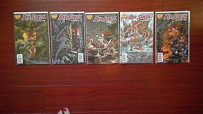 Excellant Condition!!!! Collection of Red Sonja Comics #11 #12 #13 #14 #15