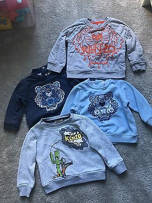 Four Genuine Kenzo Jumpers