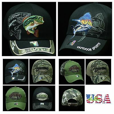 Plain Baseball Cap Snapback Fashion Hat Adjustable Hats Fishing Outdoor Sports