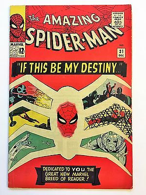 Amazing Spider-Man # 31 FINE+ (6.5) 1st App Harry Osborn & Gwen Stacy, CGC it!!!
