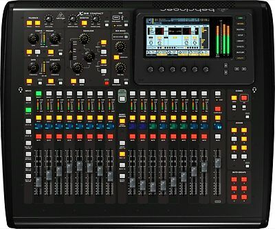 Behringer X32 COMPACT 32-Channel Digital Mixer Board Console w/ Midas Pre-Outs