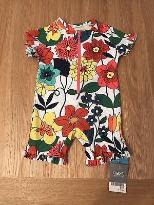 Baby Swimsuit 6-9 Months Colourful Next