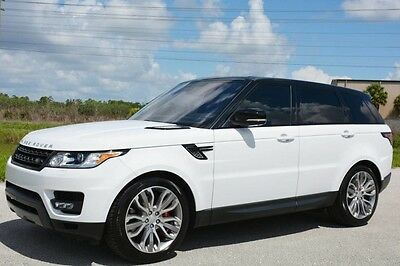 2016 Land Rover Range Rover Sport  2016 RANGE ROVER SPORT SUPERCHARGED DYNAMIC PACKAGE - LOADED WITH OPTIONS
