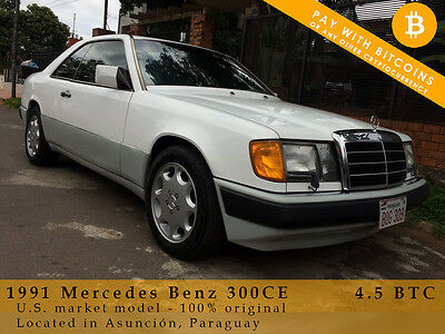 1991 Mercedes-Benz 300-Series Coupe 1991 Mercedes Benz 300CE Coupe - Pay with BITCOIN!