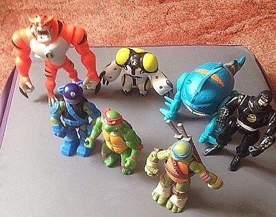 Job Lot Of  Action Figures Some Rare     All In A Played With  Condition
