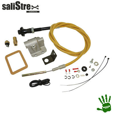 Secure Disconnect Lock Kit, delantero Jeep Wrangler YJ 1987/1995